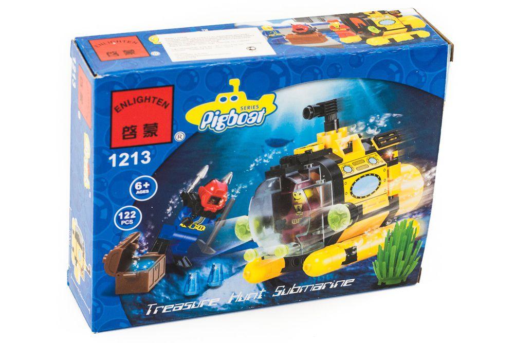 лего подводная лодка батискаф